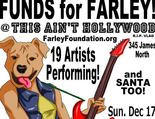 Funds for Farley benefit concert Dec. 17 helps pet owners in need