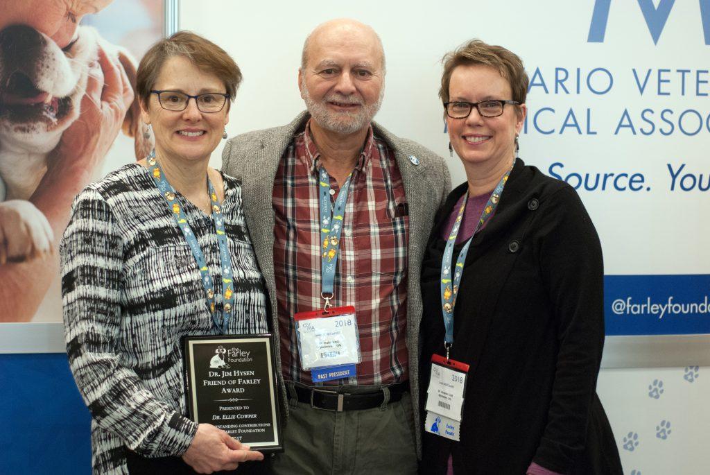 Kitchener veterinarians from Chicopee Hills Animal Hospital win Farley Foundation award