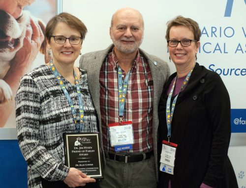 Kitchener veterinarians win Friend of Farley Award