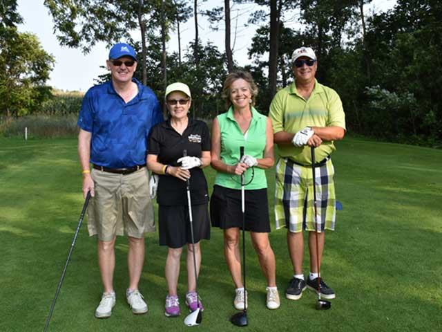 Ontario Veterinary Medical Association charity golf tournament for Farley Foundation.