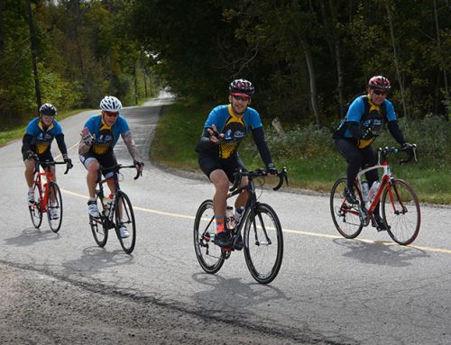 Farley charity bike ride raises more than $65,000