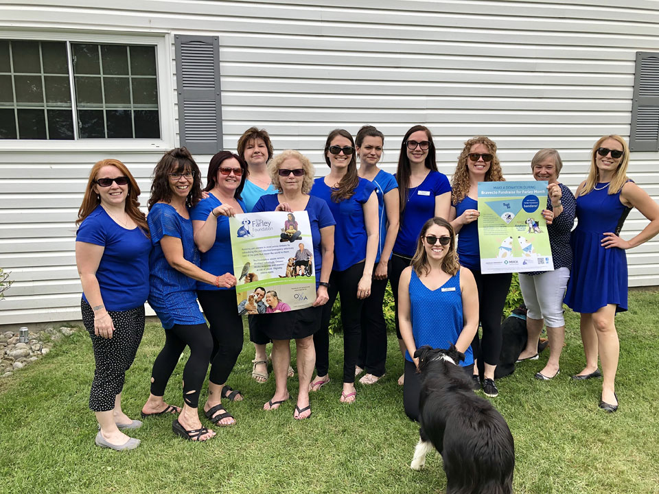 Orillia and District Veterinary Services team
